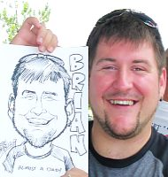 Party caricature sample